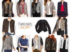 13+Tweed+Jackets+for+Fall