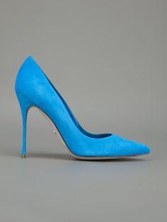 SERGIO ROSSI - Scarpin azul. 7