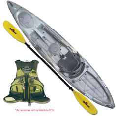 Wilderness Systems Ride 135 Advance Angler Sit-On-Top Fishing Kayak Package