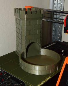 Dice Tower printed by bushman_226 #prusamini #toysandgames
