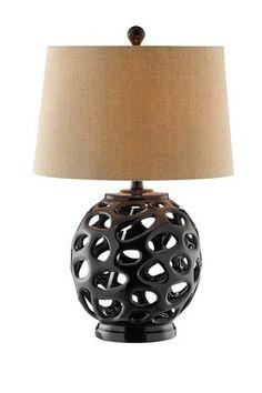 HauteLook | Stein World: Comstock Open Work Ceramic Table Lamp