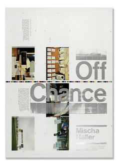 typographicposters.com  chk offchance 02 poster by chk design
