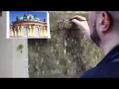 Презентация видео урока живописи Дворец Сан-Суси - YouTube