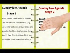 ▶ A National Sunday Law conspiracy the Adventists do not know about - as yet - YouTube