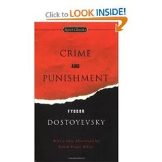 Crime and Punishment (Signet Classics): Fyodor Dostoyevsky, Sidney Monas, Leonard Stanton, James D. Hardy Jr., Robin Feuer Miller: 9780451530066: Amazon.com: Books