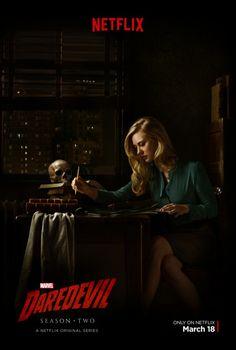 Daredevil Season 2 Deborah Ann Woll Karen Page Poster