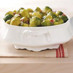 Sweet & Sour Brussels Sprouts - Taste of Home Courtesy Barbara McCalley, Allison Park, Pennsylvania