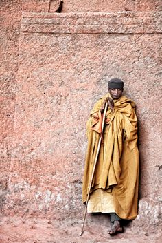 Monk in Lalibela, Ethiopia by Trevor Cole on 500px