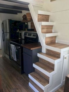 25 amazing loft stair for tiny house ideas
