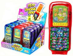 Buy Kidsmania Flip Phone Pop Toy Candy Wholesale and save money. Order Kidsmania Toy Candy in bulk now. Baby Dolls For Kids, Toys For Girls, Candy Bouquet Diy, Bubble Gum Flavor, Ikea Toys, Product Box, Oreo Flavors, Candy Lips, How To Make Smoothies