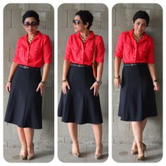 mimi g.: DIY Classic Skirt: PR B3134 + Dont Cut Corners