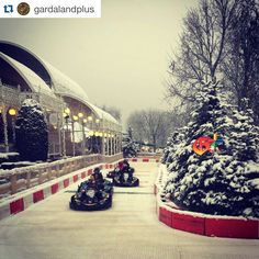 Two days to go for the Magic Winter in Gardaland! are you ready for the drifting experience with Skiddy? #gardaland #gardalandmagicwinter #skiddy #drifting #drift #karts #gokarts