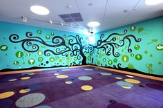 Children's activity room, Santa Monica Public Library