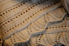 Vintage border translated by Franklin Habit from an 1840 pattern — Knitty Fall 2008