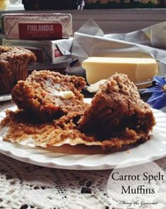 Carrot Spelt Muffins & $25 Giveaway - Living The Gourmet
