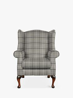 Parker Knoll Oberon Armchair, Murray Herringbone Gold at John Lewis & Partners Green Room Colors, Green Rooms, Chair Upholstery, Upholstered Furniture, Sofa Bed With Chaise, Parker Knoll, Grey Armchair, Green Vans, Wing Chair