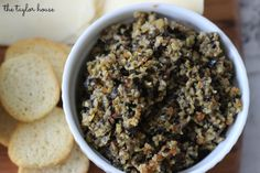 The Taylor House | Easy Olive Tapenade Recipe | http://www.thetaylor-house.com