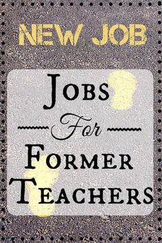 Done With Teaching? Here's How to Rock a Second Career Discover why jobs for former teachers are more abundant than you may realize. Explore several career options and learn how to launch your second career! New Career, Career Advice, New Job, Career Ideas, Jobs For Former Teachers, Career Change For Teachers, Summer Jobs For Teachers, Teacher Retirement, Early Retirement