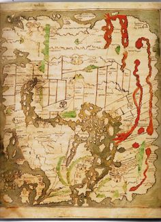 Maps Before Maps - Retronaut