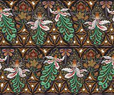 Klaus Haapaniemi - tiphaine-illustration   #pattern #textil #folklore #nature