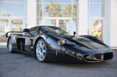 Maserati MC12 In Black
