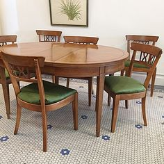 Be ready for your friends & family gatherings this year with beautiful dining solutions... #Vintage #MidCentury #DrexelHeritage #DiningSet -Click On Link For All Info Dining Set, Dining Chairs, Dining Table, Family Gatherings, Mid Century Modern Furniture, Friends Family, Mid-century Modern, Link, Vintage