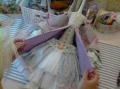 «Сюзетта - кукла в стиле Shabby Chic»