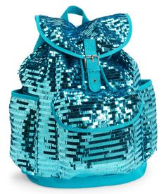 Every school day's a party when you strut through the halls with this fab Paillette Backpack!