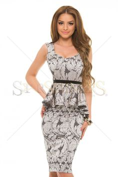 Rochie StarShinerS Sumptuous Silver - MuJeR.ro http://www.mujer.ro/rochie-starshiners-sumptuous-silver