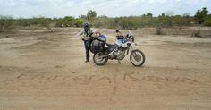 border between Ethiopia and Kenia. Overlanding through Africa.