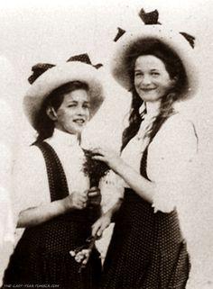 Grand Duchess Maria and Grand Duchess Olga.