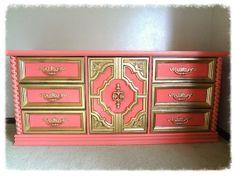 Good idea vintage dresser