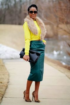 My All-time Favorite Fall Accessory: The Fur Stole | Lovelyish