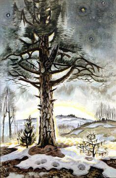 Charles E. Burchfield (1893-1967), Late Winter Dawn, 1956-65