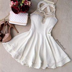 Vestido Mariana Jacquard Premium C/ BOJO (COR Off White)