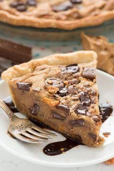 Peanut Butter Candy Bar Pie