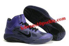 big sale 75f58 1af63 Nike Zoom Hyperfuse XDR 2010 Purple Black