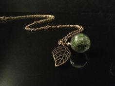 """Glasketten - Herbstkette """"Moos"""" - ein Designerstück von Simsalabim-SabrinaW bei DaWanda"""