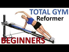 Total Trainer / Pilates Reformer exercise workout 2 (by Coach Ali) Total Gym Workouts, Effective Ab Workouts, Gym Workouts Women, Easy Workouts, Fitness Studio Training, Cardio Training, Fitness App, Fitness Hacks, Fitness Quotes