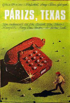 """Film Poster, """"Paris, Texas"""""""
