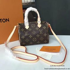 Louis Vuitton M61252 Nano Speedy Crossbody Bag Monogram Canvas Louis Vuitton  Handbags Crossbody 60c190b5574b9