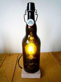 Bierflaschenleuchte