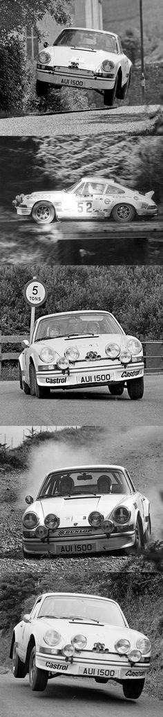 Harold Morley 1973 Porsche 911 Carrera RS 2.7 Lightweight