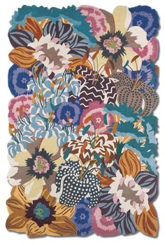 Lilium.... Flower.... Colours  the right mixture to make a nice Missoni Home carpet....