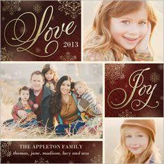 Sparkling Love 5x5 Flat Stationery Card by Poppy Studio
