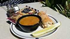 Bakery Chain Restaurant Recipes: Lemon Chicken Orzo Soup