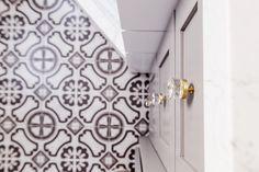 How we did it: Shiplap Shower — Savvy Interiors Shiplap Bathroom, Laundry In Bathroom, Small Bathroom, Bathrooms, Bathroom Ideas, Bath Tiles, Patio Wall, Master Bath Remodel, Home Remodeling