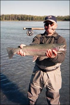 Alaska Fly Fishing!   Dr. Rainbow www.deniselakelodge.com/fishing-seasons-and-rates/fishing-and-lodging-packages/kenai-river-rainbows/#