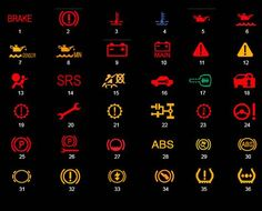 Značenje lampica na instrument tabli Instruments, Car, Autos, Automobile, Musical Instruments, Cars, Tools