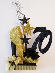 High Heel Shoe birthday or special event centerpiece